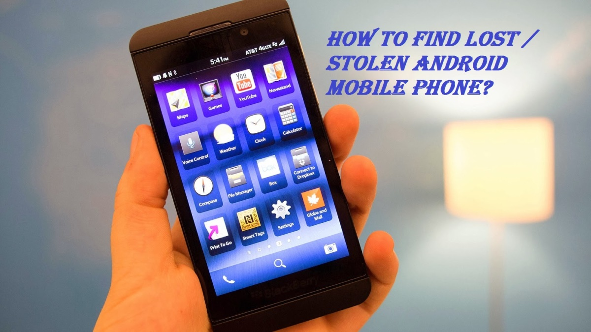 How to find your lost android phone latest update apps directories